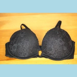 Victoria's Secret Black Lace Push up Bra